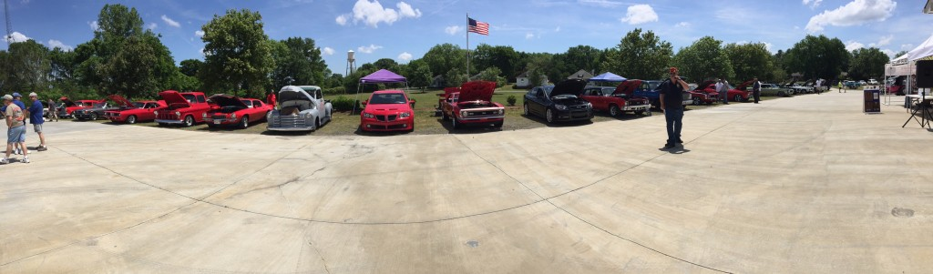 Shannon McIntosh Supports James K Polk Cars For Kids Panoramic Photo of Classic Cars