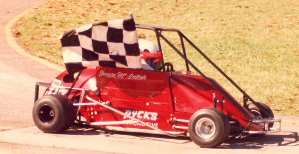 Shannon McIntosh Quarter Midget Win